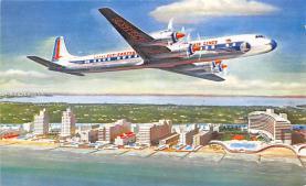 sub060741 - Airplane Post Card