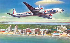 sub060751 - Airplane Post Card