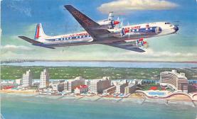 sub060755 - Airplane Post Card