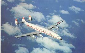 sub060763 - Airplane Post Card