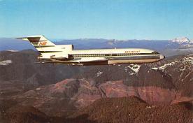 sub060771 - Airplane Post Card