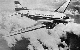 sub060779 - Airplane Post Card