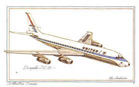 sub060799 - Airplane Post Card