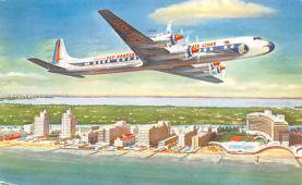 sub060817 - Airplane Post Card