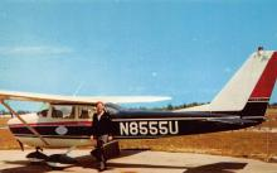 sub060825 - Airplane Post Card