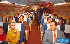 sub060835 - Airplane Post Card