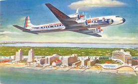 sub060847 - Airplane Post Card
