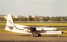 sub060885 - Airplane Post Card