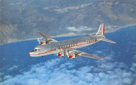 sub060891 - Airplane Post Card