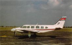 sub060895 - Airplane Post Card