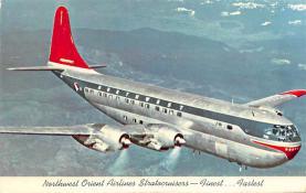 sub060897 - Airplane Post Card