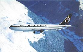 sub060925 - Airplane Post Card