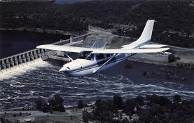 sub060927 - Airplane Post Card