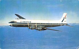 sub060943 - Airplane Post Card