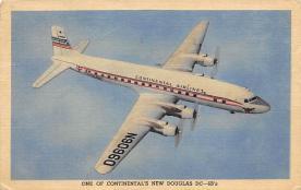 sub060949 - Airplane Post Card