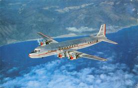 sub060971 - Airplane Post Card