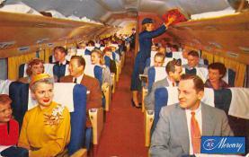 sub060999 - Airplane Post Card