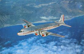 sub061001 - Airplane Post Card