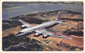 sub061009 - Airplane Post Card