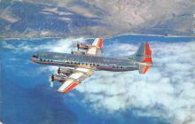 sub061031 - Airplane Post Card