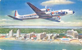 sub061073 - Airplane Post Card