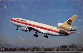 sub061093 - Airplane Post Card