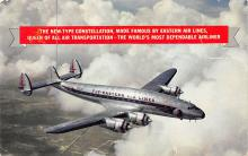 sub061097 - Airplane Post Card