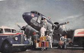 sub061123 - Airplane Post Card