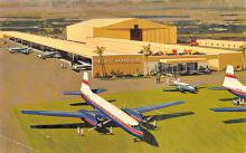 sub061127 - Airplane Post Card