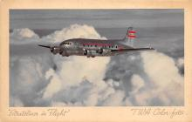 sub061131 - Airplane Post Card