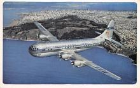 sub061137 - Airplane Post Card