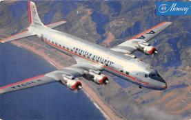 sub061157 - Airplane Post Card
