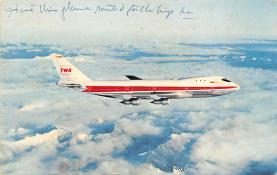 sub061185 - Airplane Post Card
