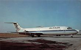 sub061197 - Airplane Post Card