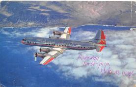 sub061281 - Airplane Post Card