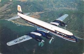 sub061317 - Airplane Post Card