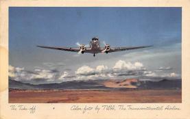 sub061323 - Airplane Post Card