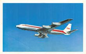 sub061329 - Airplane Post Card