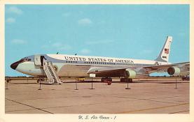 sub061337 - Airplane Post Card