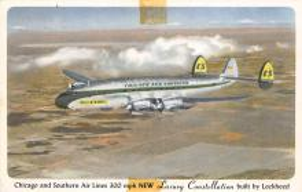 sub061349 - Airplane Post Card
