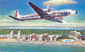 sub061359 - Airplane Post Card