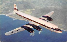 sub061385 - Airplane Post Card