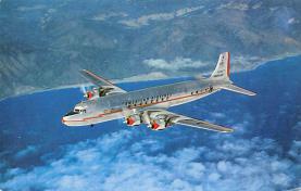 sub061393 - Airplane Post Card