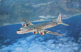 sub061399 - Airplane Post Card