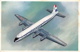 sub061481 - Airplane Post Card