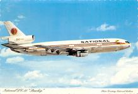sub061493 - Airplane Post Card