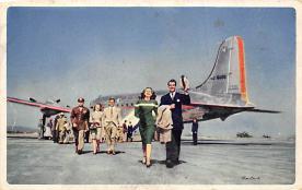 sub061499 - Airplane Post Card