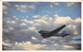 sub061565 - Airplane Post Card