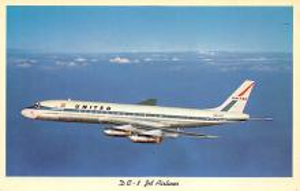 sub061567 - Airplane Post Card