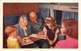 sub061581 - Airplane Post Card